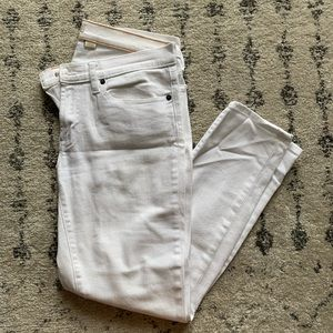 Perfect white jeans